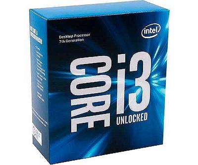 PROCESSADOR INTEL CORE I3-7350K DUAL-CORE 4.2GHZ 4MB CACHE LGA1151, BX80677I37350K