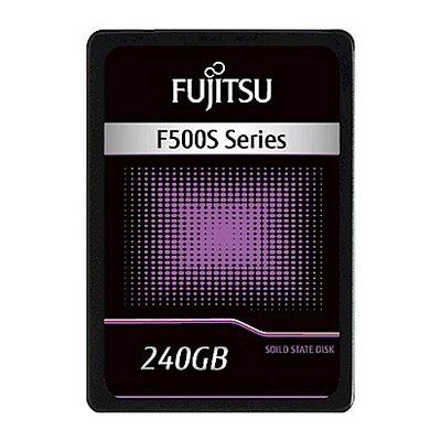 SSD FUJITSU 240GB F500S Series, 2.5″ Sata III, Leitura 560MB / Gravação 410MB