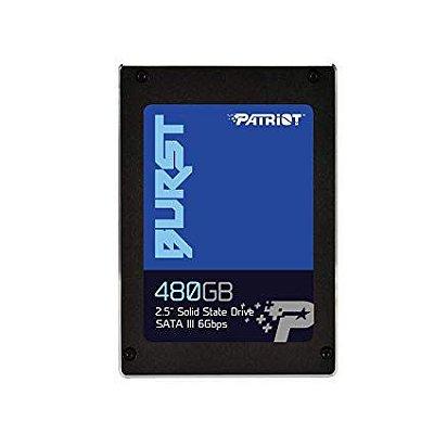 "SSD PATRIOT 480GB 2.5"" SATA III 6Gbs, Leitura 560 MB / s Gravação 540 MB / s - PBU480GS25SSDR"