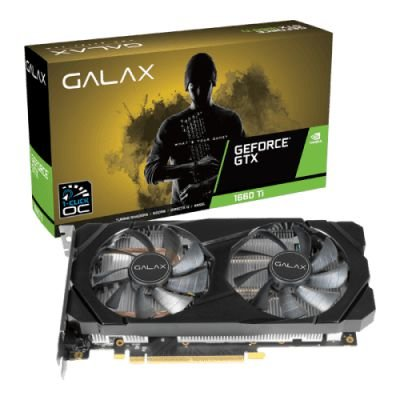 PLACA DE VIDEO GALAX GEFORCE GTX 1660 TI 6GB GDDR6 1-CLICK OC 192-BIT, 60IRL7DSY91C