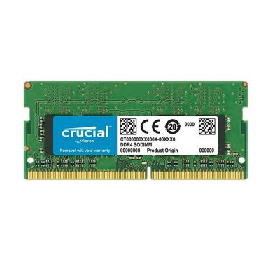 Memória Crucial 16GB DDR4 2400Mhz SODIMM CL17 p/ Notebook - CT16G4SFD824A