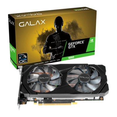 PLACA DE VIDEO GALAX GEFORCE GTX 1660 6GB GDDR5 1-CLICK OC 192-BIT, 60SRH7DSY91C