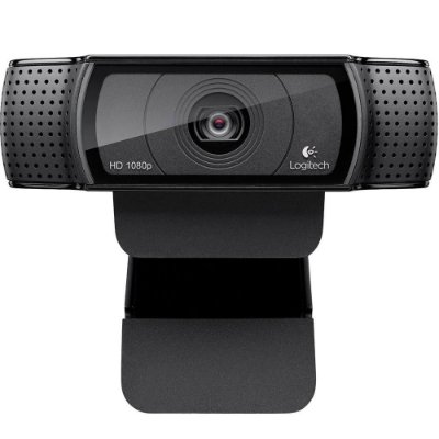WEBCAM LOGITECH C920 PRO FULL HD 1080P, USB PRETA - 960-000764