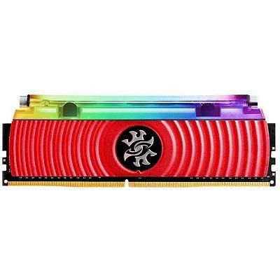 MEMÓRIA ADATA XPG SPECTRIX D80, OCEANIC RGB 8GB 3200MHz, DDR4, Vermelho - AX4U320038G16-SR80