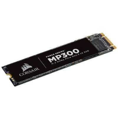 SSD CORSAIR FORCE SERIES MP300 480GB, M.2 NVMe, LEITURA 1600MB/s, GRAVAÇÃO 1040MB/s - CSSD-F480GBMP300