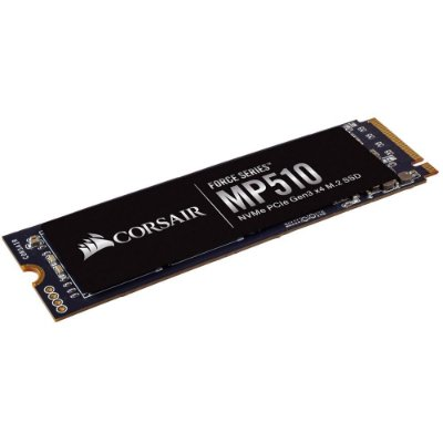 SSD CORSAIR FORCE SERIES MP510 240GB, M.2 NVMe, Leitura 3100MB/s, Gravação 1050MB/s - CSSD-F240GBMP510