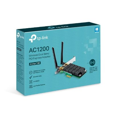 Adaptador Wireless TP-Link  AC1200, Pci Express, Dual Band, Archer T4E