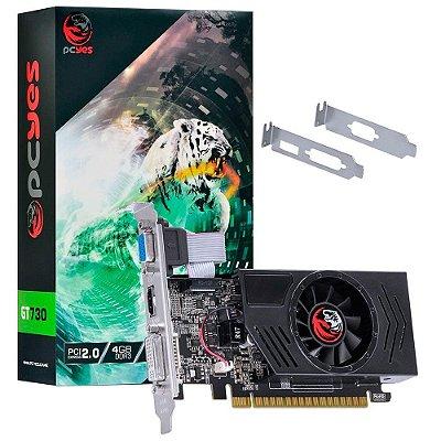PLACA DE VÍDEO PCYES  GT 730 4GB, DDR3, 128 BITS - PA730GT12804D3