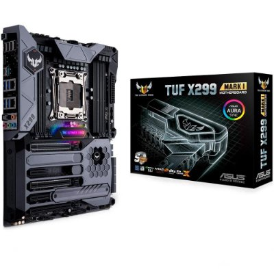 PLACA MÃE ASUS TUF X299 MARK 1, Intel LGA 2066, ATX, DDR4