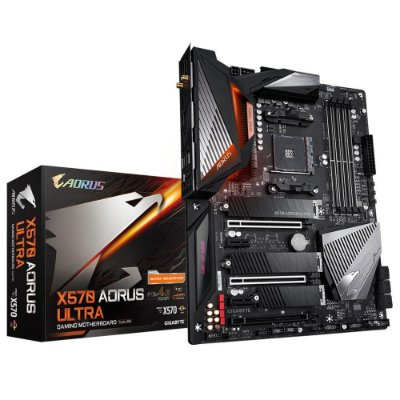 PLACA MÃE GIGABYTE X570 AORUS ULTRA, AMD AM4, PCLe 4.0, ATX, DDR4