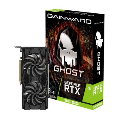 PLACA DE VÍDEO GAINWARD, GEFORCE RTX 2060 SUPER GHOST, 8GB, GDDR6, 256BIT - NE6206S018P2-1160X