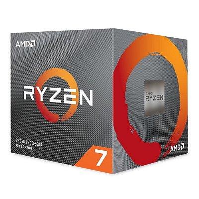 PROCESSADOR AMD RYZEN 7 3800X, CACHE 36MB, AM4, 3.9GHz (4.5GHz Max Turbo) - 100-100000025BOX