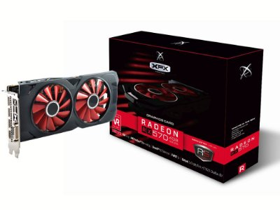 PLACA DE VÍDEO XFX AMD RADEON RX 570, 4GB GDDR5, RS XXX ED OC+ , RX-570P4DFD6