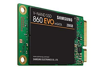 SSD SAMSUNG 860 EVO mSATA 250GB, V-NAND, LEITURA 550MB/s, GRAVAÇÃO 520MB/s - MZ-M6E250