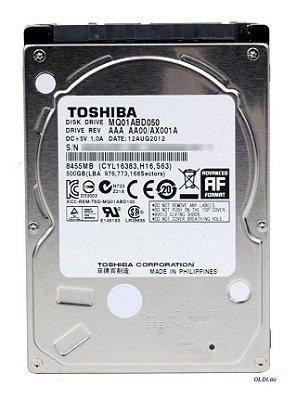 HD TOSHIBA NOTEBOOK 500GB, 8455MB - MQ01ABD050