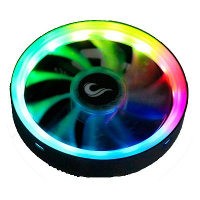 COOLER PARA PROCESSADOR RISEMODE GALAXY G400 COLOR LED - RM-AC-04-FB