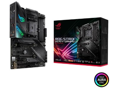 PLACA MÃE ASUS ROG STRIX X570-F GAMING, AMD AM4, ATX, PCIe 4.0, DUAL M.2, SATA 6Gb/s