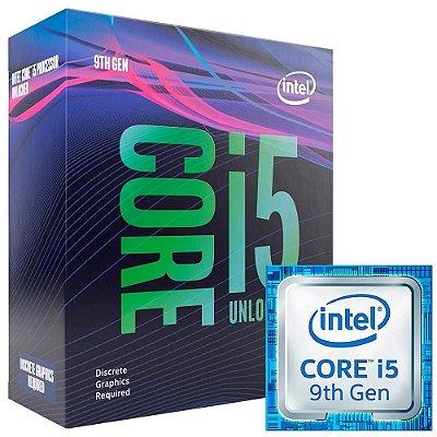 PROCESSADOR INTEL I5-9600KF, CACHE 9MB, 3.7GHz (4.6GHz Max Turbo), LGA 1151, SEM VÍDEO - BX80684I59600KF