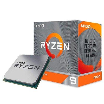 PROCESSADOR AMD RYZEN 9 3950X, AM4, 3.5 GHz ( 4.7 GHz TURBO), CACHE 72MB - 100-100000051WOF