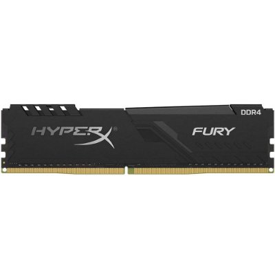 MEMÓRIA KINGSTON HYPERX FURY 4GB 2666MHz, DDR4, CL16 PRETO - HX426C16FB3/4