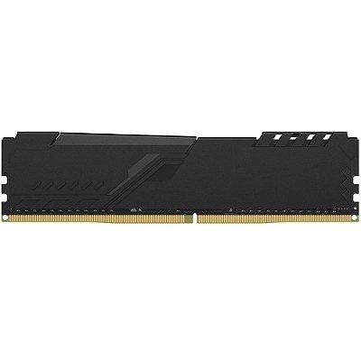 MEMÓRIA KINGSTON HYPERX FURY 4GB 2666MHz, DDR4, CL16 PRETO - HX426C16FB3/4
