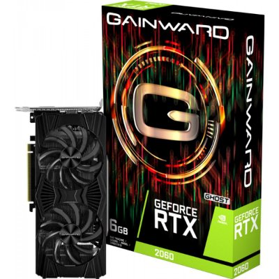 PLACA DE VÍDEO GAINWARD GEFORCE RTX 2060 GHOST, 6GB GDDR6, 192BIT - NE62060018J9-1160X