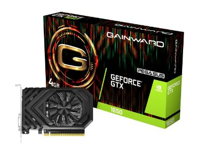 PLACA DE VÍDEO GAINWARD GEFORCE GTX 1650 PEGASUS 4G, GDDR5 - NE51650006G1-1170F