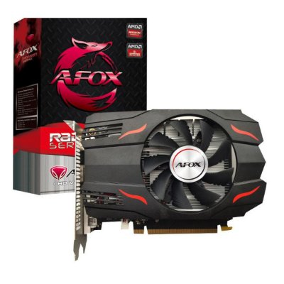 PLACA DE VÍDEO AFOX RADEON RX 550, 4GB GDDR5, HD SERIES AMD - AFRX550-4096D5H3
