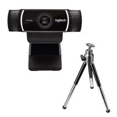 WEBCAM LOGITECH C922 PRO HD STREAM, FULL HD 1080P/30FPS 720P/60FPS
