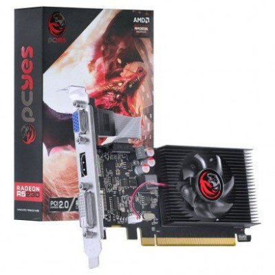 PLACA DE VÍDEO PCYES RADEON R5 230, 2GB DDR3, AMD, 64BITS - PJ230R56402GD3LP