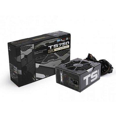 FONTE XFX TS750 750W, 80 PLUS GOLD - P1-750G-TS3X