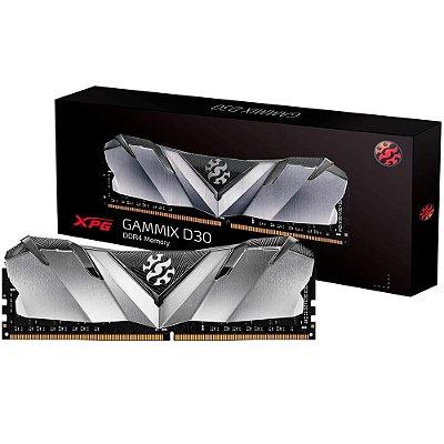 MEMÓRIA ADATA XPG GAMMIX D30 8GB 3200MHz, DDR4, CL16 - AX4U320088G16A-SB30