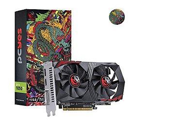 PLACA DE VÍDEO PCYES GTX 1050TI, 4GB GDDR5, 128 BITS - PA1050TI12804G5DF
