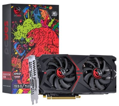 PLACA DE VIDEO AMD RADEON RX 570 4GB GDDR5 256 BITS DUAL-FAN GRAFFITI SERIES