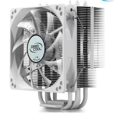 COOLER PARA PROCESSADOR DEEP COOL GAMMAXX 400, INTEL/AMD, SILENT 120MM, BRANCO - MCH4-GMX400P-WH