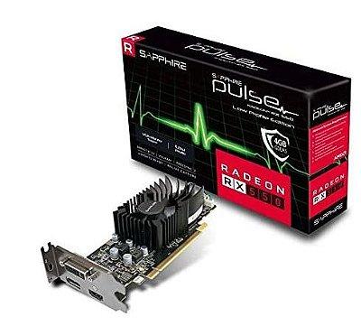 PLACA DE VÍDEO RX 550 4GB DDR5 128BITS SAPPHIRE