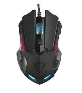MOUSE GAMER TRUST ORNA GXT148 3200DPI 6 CORES 8 BOTOES - T21197