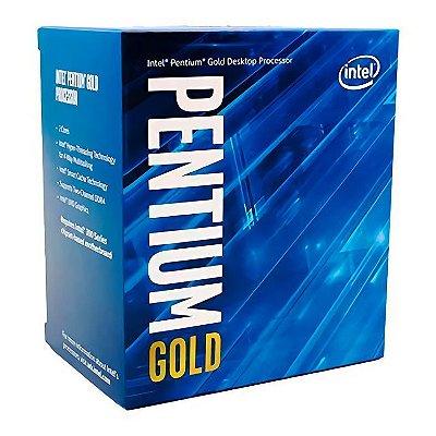PROCESSADOR INTEL PENTIUM GOLD G5420 DUAL-CORE 3.8GHZ 4MB CACHE LGA1151 - BX80684G5420