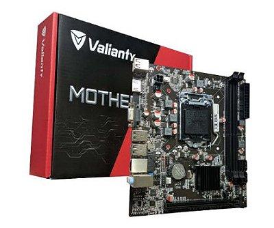 PLACA MÃE VALIANTY H61-MA5, LGA 1155, MATX, DDR3
