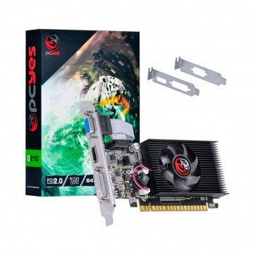 PLACA DE VÍDEO NVIDA GEFORCE G210 1GB DDR3 64 BITS PCYES