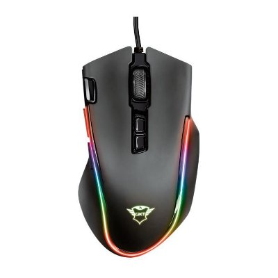 MOUSE GAMER TRUST GXT188 LABAN 15000DPI RGB 7 BOTOES PRETO - T21789