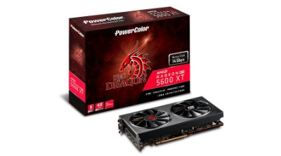 PLACA DE VÍDEO POWERCOLOR RADEON RX 5600 XT RED DRAGON OC 6GB GDDR6 192-BIT - AXRX 5600XT 6GBD6-3DHR/OC