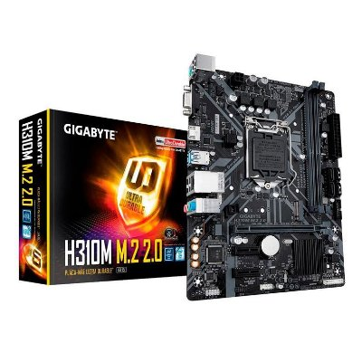 PLACA MAE GIGABYTE H310M M.2 2.0 DDR4 SOCKET LGA1151 CHIPSET INTEL H310