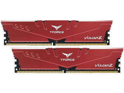 MEMÓRIA DDR4 T-FORCE VULCAN-Z RED 16GB (2X8GB) 3000MHZ - TLZRD416G3000HC16CDC01