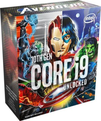 PROCESSADOR INTEL, CORE I9 10850KA AVENGERS EDITION, 3.6GHZ (5.2GHZ TURBO), 10 CORES, 20 THREADS, LGA 1200, BX8070110850KA, C/ VÍDEO, S/COOLER