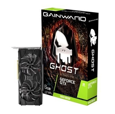 PLACA DE VÍDEO GEFORCE GTX 1660 SUPER 6GB GDDR6  GHOST GAINWARD -  NE6166S018J9-1160X