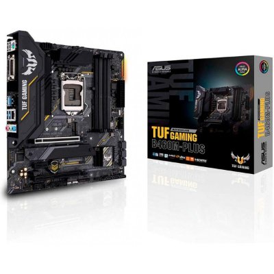 PLACA MÃE ASUS TUF GAMING B460M-PLUS, CHIPSET B460, INTEL LGA 1200, WI-FI MATX, DDR4 - 90MB1450-C1BAY0