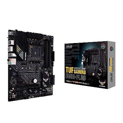 PLACA MAE ASUS TUF GAMING B550-PLUS DDR4 SOCKET AM4 CHIPSET AMD B550