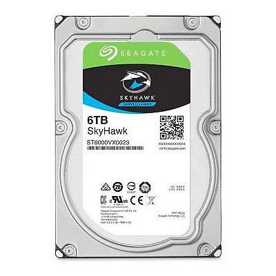 """HD SEAGATE SKYHAWK 6TB 3.5"""" SATA III 6GB/S - ST6000VX001"""