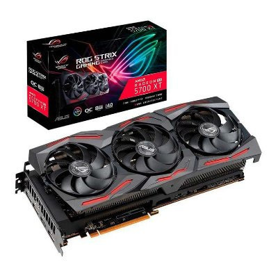 PLACA DE VIDEO ASUS RADEON RX 5700 XT 8GB GDDR6 ROG STRIX 256-BIT - ROG-STRIX-RX5700XT-O8G-GAMING